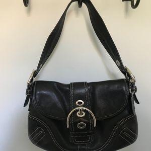 Small Black Coach Shoulder Bag